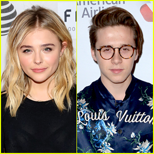 Chloe Moretz Holds Hands With Rumored Flame Brooklyn Beckham