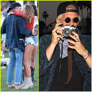 Cody Simpson Hangs With Gorgeous Girls at Coachella 2016