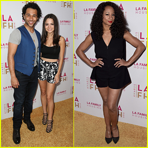 Corbin Bleu & Monique Coleman Reunite At LA Family Housing's Annual Awards 2016