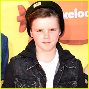 Cruz Beckham Sings Really Well - Watch This Cute Video!