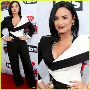 Demi Lovato Hits the iHeartRadio Music Awards 2016