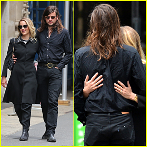 Dianna Agron Cuddles Up to Fiance Winston Marshall