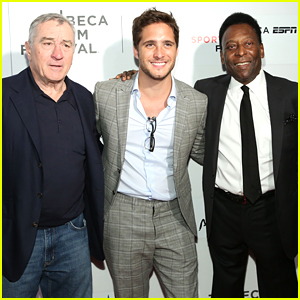 Diego Boneta Joins Pele at Tribeca Premiere of 'Pele: Birth of a Legend'
