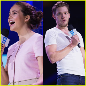 Bailee Madison & Dominic Sherwood Have a Blast at We Day in Seattle!