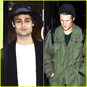 Douglas Booth Joins Matt Smith for London Gallery Viewing