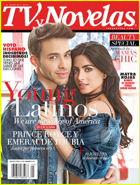 'Shadowhunters' Star Emeraude Toubia Covers TVyNovelas With Prince Royce!