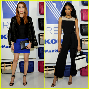Emma Roberts Joins Chanel Iman for Reed X Kohl's Launch