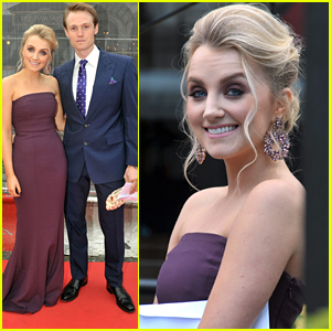 Evanna Lynch & Boyfriend Robbie Jarvis Step Out For IFTA Awards in Dublin