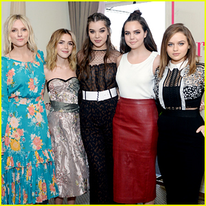 Hailee Steinfeld Gets Bailee Madison's Support at 'Harper' Cover Event!