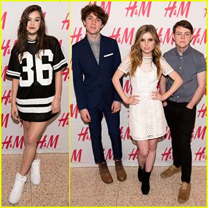 Hailee Steinfeld & Echosmith Perform at H&M at Sundance
