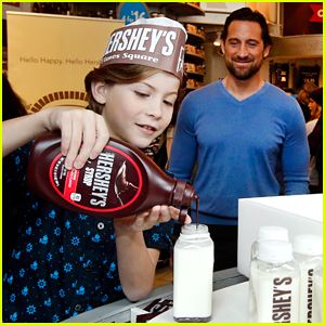 Jacob Tremblay Takes Dad to Work at Hershey's Chocolate!