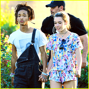 Jaden Smith Takes Romantic Rose Garden Stroll With Sarah Snyder