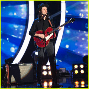 James Bay Beautifully Sings Two of His Hits on 'Dancing With the Stars' - Watch Here!