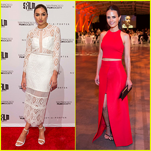 Olivia Culpo Wows in White at Film Society Awards