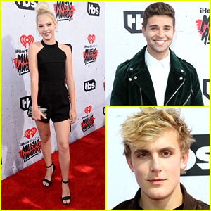 Jordyn Jones Joins Jake Paul & Jake Miller at iHeartRadio Music Awards 2016