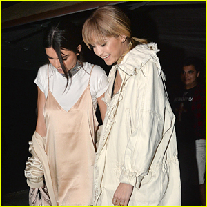 Kendall Jenner & Gigi Hadid Hang Out Together After MTV Movie Awards Taping