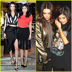 Kendall & Kylie Jenner Celebrate New Neiman Marcus 'Kendall & Kylie' Collection