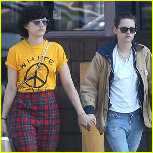 Kristen Stewart Holds Hands with Girlfriend Soko in LA!