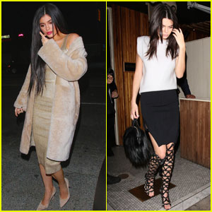 Kylie Jenner Spends Saturday Night Out With Sister Kendall