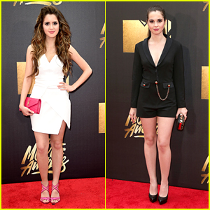 Laura & Vanessa Marano Are Stunning Sister Act at MTV Movie Awards 2016