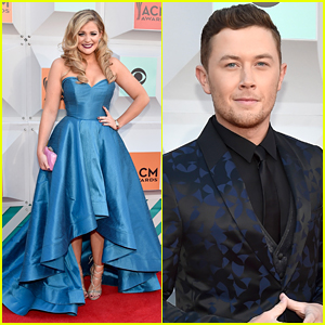 Lauren Alaina & Scott McCreery Represent 'Idol' at ACM Awards 2016!