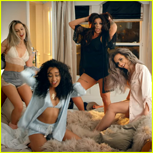 Little Mix Have Epic Slumber Party In 'Hair' Video - Watch Now!