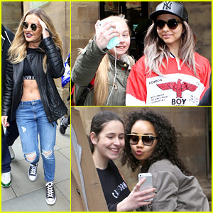 Little Mix Make Time For Fans Ahead of Manchester Concert