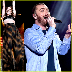 Sam Smith & Lorde Perform with Disclosure at Coachella 2016!