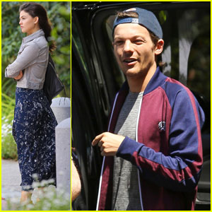 Louis Tomlinson & Danielle Campbell Step Out After Becoming Instagram Official