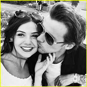 Louis Tomlinson & Danielle Campbell Kiss in First Social Media Pic!