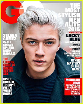 Lucky Blue Smith One of '13 Most Stylish Men In The World' by GQ