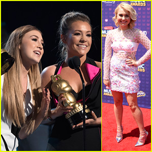 Maddie & Tae Win Favorite Country Song & Country Artist at RDMA 2016
