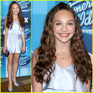 Maddie Ziegler Hits Up 'American Idol' Finale with David Mazouz