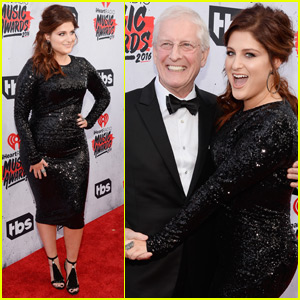 Meghan Trainor Takes Her Dad to the iHeartRadio Music Awards 2016