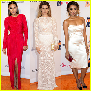 Naya Rivera, Ashley Tisdale, & Kat Graham Race to Erase MS at Annual Gala