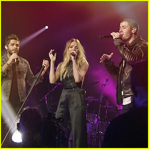 Nick Jonas Debuts 'Chainsaw' at CMT Crossroads - Watch Now!