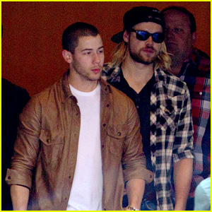 Nick Jonas & Chord Overstreet Spend Sunday in New Orleans