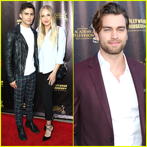 Max Ehrich & Veronica Dunne Couple Up For Daytime Emmy Awards Nominees Reception 2016