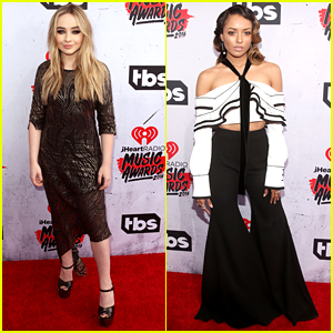 Sabrina Carpenter Hits iHeartRadio Music Awards 2016 with Kat Graham