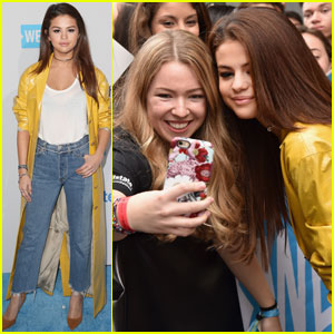 Selena Gomez is a WE Day Cali Beauty!