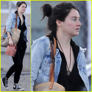 Shailene Woodley Keeps Things Low-Key While Filming 'Big Little Lies'