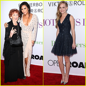 Shay Mitchell Brings Grandmother To 'Mother's Day' Premiere