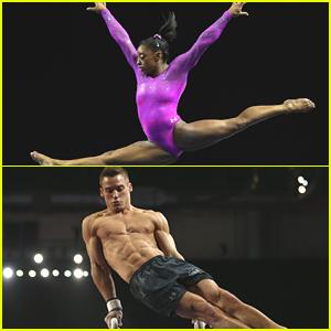 Simone Biles & Sam Mikaluk Lead Women & Men's Gymnastics Teams To Gold at Pacific Rim Championships