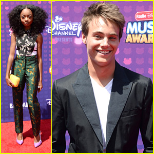 Skai Jackson & Kevin Quinn Sneak Out of 'Bunk'D' Camp For RDMA 2016