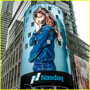 Skylar Stecker Featured On NASDAQ Billboard in Times Square - See The Pic!