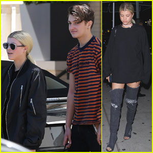 Sofia Richie Goes Shopping With Pal Anwar Hadid!