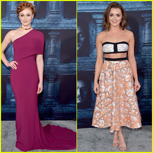 Sophie Turner Joins Maisie Williams at 'Game of Thrones' Premiere
