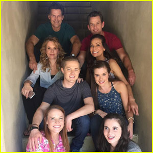 Katie Leclerc Shares Group Photo From Last Day of 'Switched at Birth' Filming