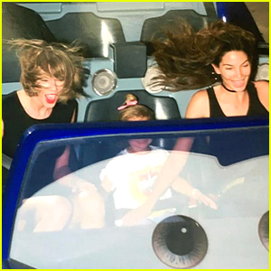 Taylor Swift Has a Blast at Disneyland with Model Pal Lily Aldridge!