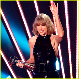 Taylor Swift Uses Calvin Harris' Real Name in iHeartRadio Acceptance Speech (Video)